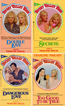 SWEET VALLEY TWINS-CHILDRENS BOOKS-10 SOFT COVERS BY FRANCINE PASCAL